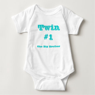 Twin#1, The Big Brother Baby Bodysuit