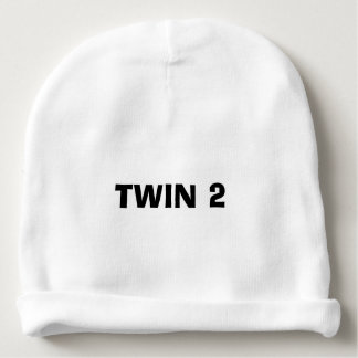 """Twin 2"" Baby Hat"