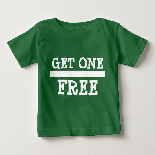 Twin 2 buy one get one free baby t shirt zazzle for Buy 1 get 1 free shirts