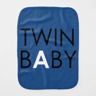 Twin A Burpcloth - Boy - Blue Baby Burp Cloth