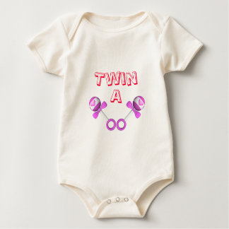 Twin A Girl/Girl Baby Bodysuit