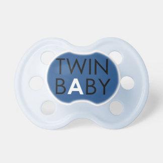Twin A Pacifier - Boy - Blue