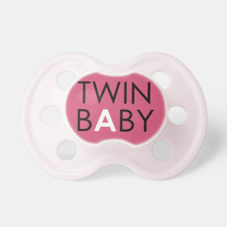 Twin A Pacifier - Girl - Pink