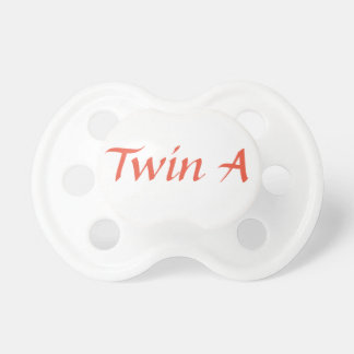 Twin A Pacifier (Part 1 of 2)