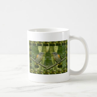 Twin American Wild Birds - Kids Fancy Fantasy Gift Coffee Mug