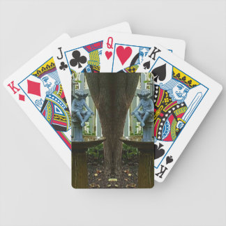 Twin Angels. Bicycle Playing Cards