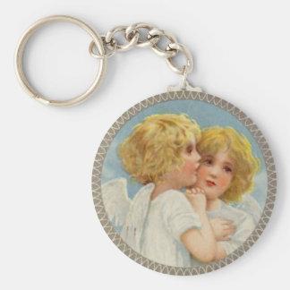 Twin Angels Keychain