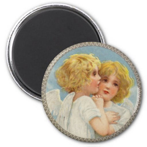 Twin Angels Magnet