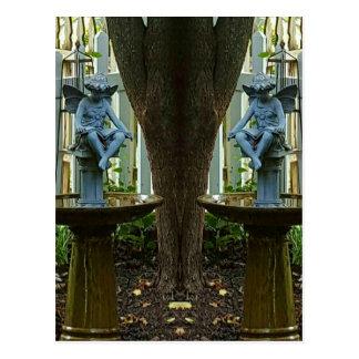 Twin Angels. Postcard