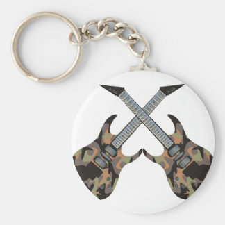 Twin Axes Keychain