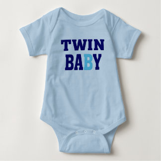Twin B Baby Bodysuit