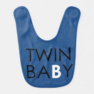 Twin B Bib - Boy - Blue