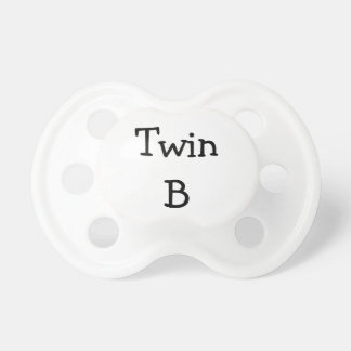 Twin B BooginHead Pacifier