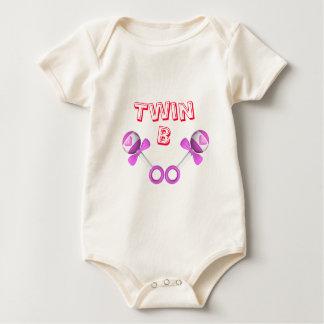 Twin B Girl/Girl Baby Bodysuit