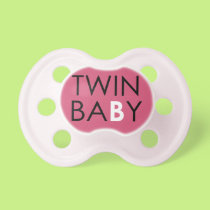 Twin B Pacifier - Girl - Pink
