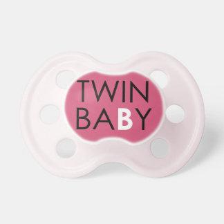 Twin B Pacifier - Girl - Pink