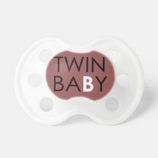 Twin B Pacifier - Girl - Plum