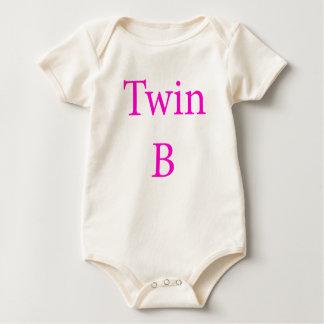 Twin B Pink Baby Bodysuit