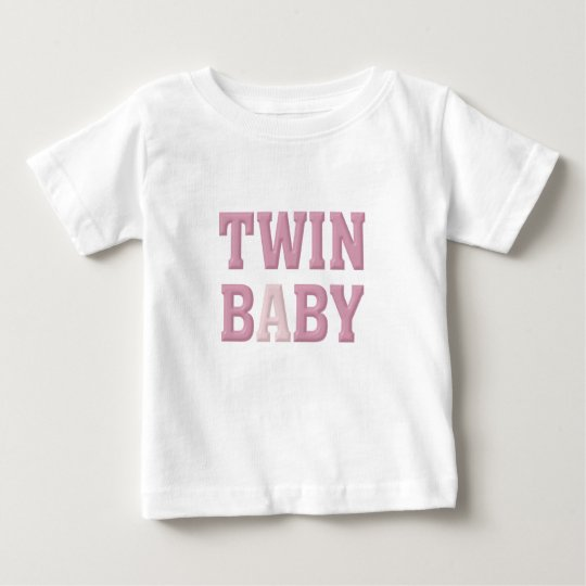 Twin Baby A (Pink) Baby T-Shirt