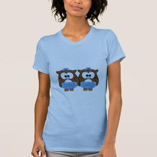 twin baby boy owl T-Shirt