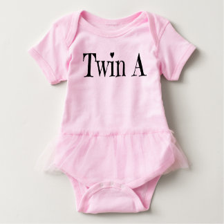 Twin Baby Clothes - Twin A Outfit Baby Bodysuit