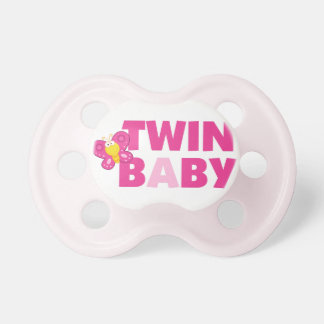 TWIN Baby Girl A Pacifier