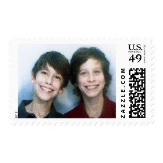 twin bar mitzvah postage stamp