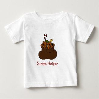Twin bears in Santas bag t-shirt