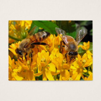 Twin Bees ~ ATC Business Card