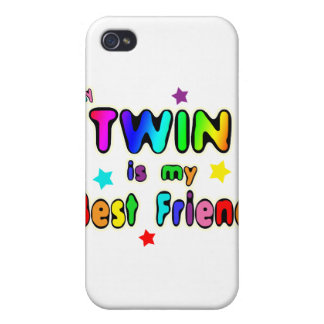 Twin Best Friend iPhone 4/4S Covers