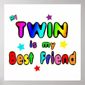 Twin Best Friend Poster