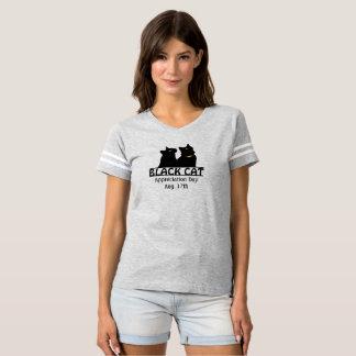 Twin Black Cats Appreciation Day Shirt