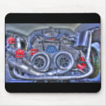 Twin Blowers Race Car Mousepads