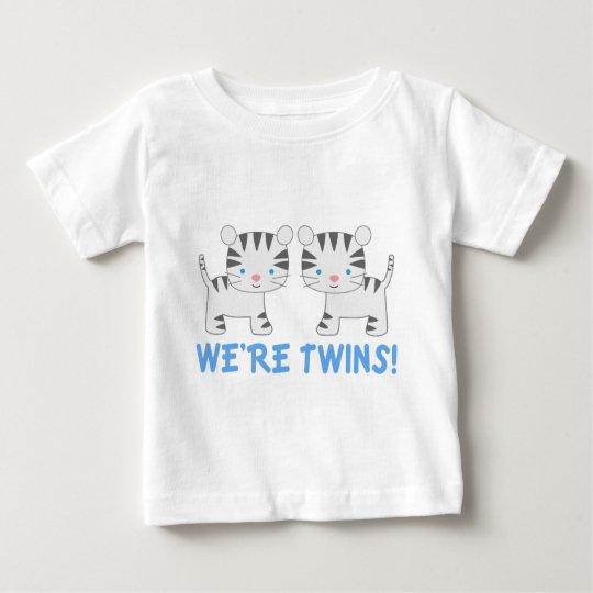 Twin Boy Jungle Tiger Baby Tee
