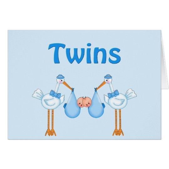 Twin Boys Card