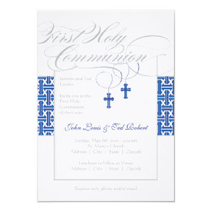 twins first communion 1st holy communion invitations zazzle
