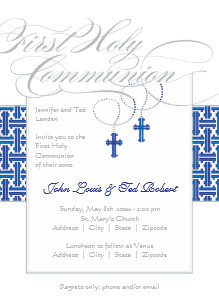 boy first communion 1st holy communion invitations zazzle
