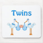 Twin Boys Mouse Pad