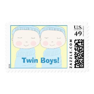 Twin Boys Postage