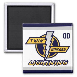 Twin Bridges Magnet