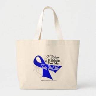 Twin Brother Blue Ribbon - Colon Cancer Bags
