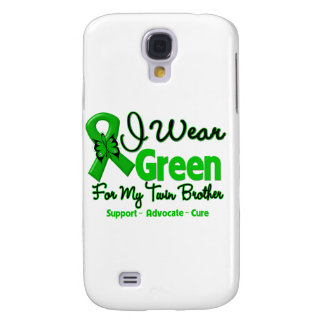 Twin Brother - Green Awareness Ribbon Galaxy S4 Case