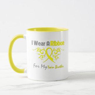 Twin Brother - I Wear A Yellow Ribbon Military Sup Mug