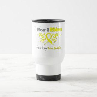 Twin Brother - I Wear A Yellow Ribbon Military Sup Travel Mug