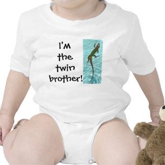 Twin Brother - Lizard Baby Bodysuits