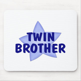 Twin Brother Mouse Pad