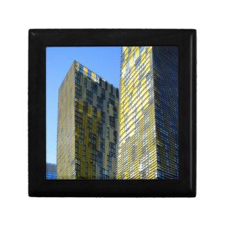 Twin Buildings on the Vegas Strip Keepsake Box
