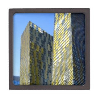 Twin Buildings on the Vegas Strip Premium Gift Boxes