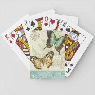Twin Butterflies Poker Cards