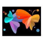 Twin Butterflies Post Card